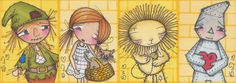 Items similar to Wizard of Oz Set of 4 ACEO sized Matt Prints - Signed and dated on Etsy Judy Garland, Vintage Paper Dolls, Wizard Of Oz, Beautiful Things, Musicals, Dating, Princess Zelda, Illustrations, The Originals