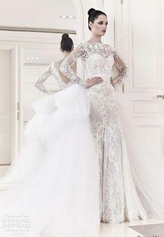 Zahir Murad wedding dress.