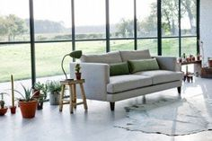 The Marlon Sofa from Love Your Home offers contemporary design for less. Choose from over 100 fabrics and create your perfect sofa. Interior Architecture, Interior And Exterior, Interior Design, Traditional Sofa, White Couches, Comfy Sofa, Living Spaces, Living Room, Love Your Home