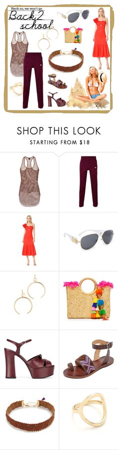 """set for amazing"" by denisee-denisee ❤ liked on Polyvore featuring Alexandre Vauthier, Rebecca Taylor, Versace, Luv Aj, JADEtribe, Yves Saint Laurent, Free People, Shashi and Madewell"