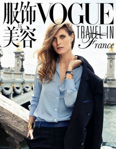 Malgosia Bela pour Vogue Travel in France