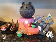Ultimate Angry Birds Star Wars Cake... Coolest Birthday Cake Ideas