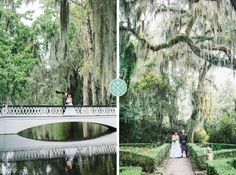 Magnolia Plantation bride and groom portraits // Aaron and Jillian Photography » Husband and Wife International Engagement & Wedding Photographers based in Charleston, South Carolina.