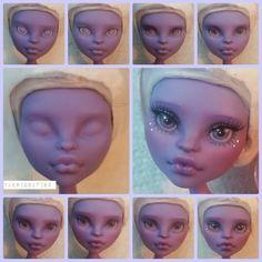 Skeriosities monster high custom ooak repaint Jane Boolittle