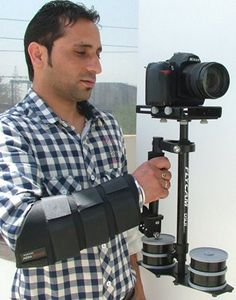 DSLR Flycam Nano Professional Camera / Camcorder Action Stabilizer with Arm Brace (for cameras up to 3.5 pounds)