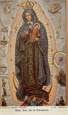 Virgen de la Elevación. | Una fusión de las advocaciones del… | Flickr