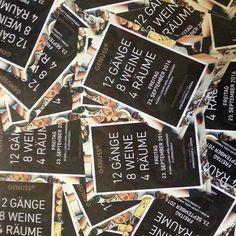 """. Ist er nicht toll geworden, unser Flyer für den Anlass """"Genusshoch12"""" unseres Kunden, dem Small Luxury Hotel Ambassador à l'Opéra? Am 23. September wird das Utoschloss zum lukullischen Place to be in Zürich. www.genusshoch12.ch. .  #Contcept #StoryTelling #hotelambassador. . . Flyer, Event Ticket, September, Social Media, Instagram Posts, Social Networks"""