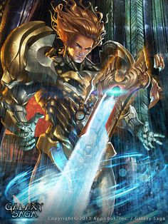 Artist: Unknown name aka Davey - Title: Milo, Synaptic Swordsman - Card: Milo, Synaptic Swordsman