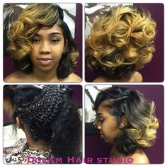 Bob length hair, shoulder length blonde bob, quick weave bob , blonde hair , medium length hair , body curls , Houston hairstylist , Houston hair salon