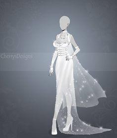 (closed) Auction Adopt - Outfit Moon dress by CherrysDesigns Source by dress drawing Anime Outfits, Dress Outfits, Cool Outfits, Dress Drawing, Drawing Clothes, Fashion Design Drawings, Fashion Sketches, Anime Dress, Dress Sketches