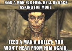 Fallout New Vegas Quote