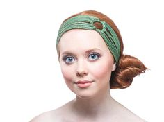 Check out this item in my Etsy shop https://www.etsy.com/listing/211332593/kelly-green-headband-green-turban