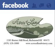 Another great local vineyard is Acres of Land. They also have a fabulous restaurant with great food.   Link: http://www.acresoflandwinery.com/index.asp