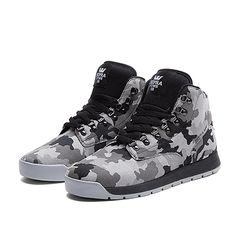 SUPRA BACKWOOD Shoe | CAMOUFLAGE - WHITE | Official SUPRA Footwear Site