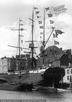 Photo of Weymouth, Convict Ship 1904 from Francis Frith Weymouth Harbour, Weymouth Dorset, Dorset Travel, Portland Dorset, The Last Ship, Hulk, Old Photos, Vintage Photos, History Of Photography