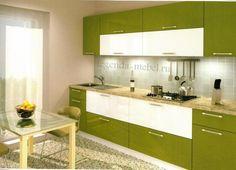 Кухня в стиле модерн и см. стулья