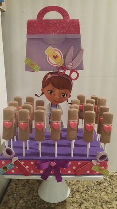 Doc mcstuffins chocolate bandaid suckers by CoutureSweetTreats, $25.00