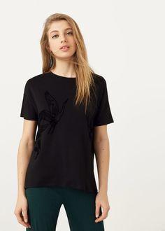 Camiseta estampada   MANGO