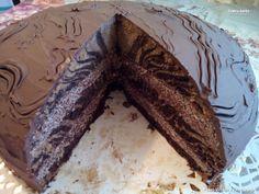 gluténmentes torta recept Zebratorta Gluten Free, Food, Cooking, Glutenfree, Essen, Sin Gluten, Meals, Yemek, Eten