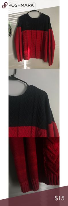 Forever 21 sweater Knitted Forever 21 sweater. Gently used and in almost perfect condition. Size L Forever 21 Sweaters