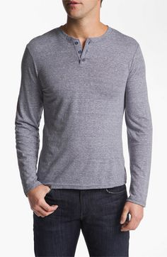 The Rail by Public Opinion Long Sleeve Henley (2 for $50)   Nordstrom