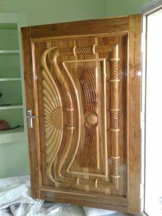 Door Design Images, Wooden Main Door Design, Edwin, Sofa Set Designs, Interior Modern, Wooden Doors, Wood Carving, Dining Chairs, Furniture