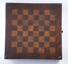 Very Fine Antique Reversible Game Board