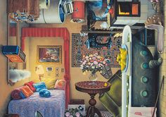 4Siders: Paintings by Jacek Yerka | Inspiration Grid | Design Inspiration