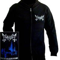 Mayhem De Mysteriis Dom Sathanas Hoodie [Size: L] Beserk Clothing, Lyric Shirts, England Shirt, Skull Tank Tops, Band Hoodies, Heavy Metal Bands, Red Shirt, Dark Fashion, Sweater Hoodie