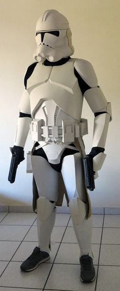 Homemade Clone Trooper Armor == UPDATE == This is how it looks right now FAQs (English version at the bottom half).