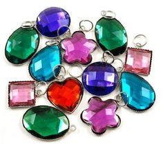 rainbow loom charms gems RAINBOW LOOM MINI HOOKS AND CHARMS $5 & UNDER!