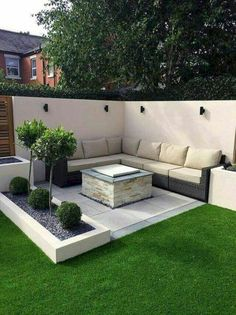 39 Way to Simple Garden Design For Small Backyard Ideas - ., 39 Way to Simple Garden Design For Small Backyard Ideas - . Simple Garden Designs, Back Garden Design, Modern Garden Design, Small Back Garden Ideas, Small Garden Inspiration, Simple Backyard Ideas, Simple Garden Ideas, Design Inspiration, Backyard Ideas For Small Yards