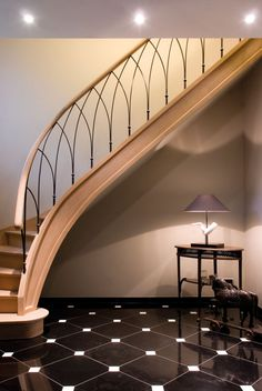 ღღ Beautiful unique curved stair