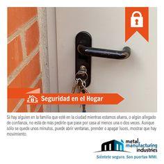 Por #seguridad, pide a algún familiar o vecino de confianza que acuda a tu casa algunas veces mientras estás de vacaciones para que se vea movimiento y disuada a los ladrones.