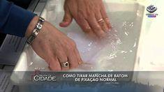 Como tirar manchas de tecido- 03/09/13- 01