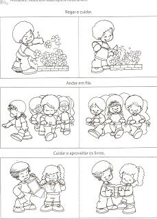 rules in kindergarten Senses Activities, Therapy Activities, Activities For Kids, Coloring Sheets For Kids, School Worksheets, Classroom Rules, Emotional Development, Preschool At Home, Lessons For Kids