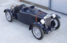 1936 MG TA - one of only 8 Q-types