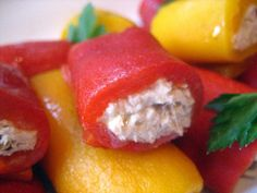 I found this wonderful idea for little tuna rolls in Lidia Bastianich's book Lidia's Italy.   How could something so basic be so good?  We...