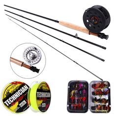 39.99$  Buy now - http://ali47d.shopchina.info/go.php?t=32499408157 - Sougayialng 8.86FT #5/6 Fly Fishing Rod Set 2.7M Fly Rod and Fly Reel Combo with Fishing Lure Line Box Set Fishing Rod Tackle 39.99$ #buymethat