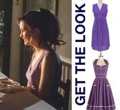 best of me movie clothes amanda liana purple polka dot dress