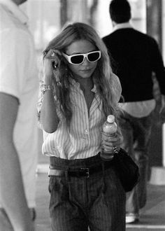 Olsens Anonymous Blog Style Fashion Get The Look Mary Kate Olsen Stripes On Stripes Long Wavy Hair White Frame Sunglasses Button Down Wide Leg Trousers Candid photo Olsens-Anonymous-Blog-Style-Fashion-Get-The-Look-Mary-Kate-Olsen-Stripes-On-Stripes-Long-Wavy-Hair-White-Frame-Sunglasses-Button-Down-Wide-Leg-Trousers.jpg