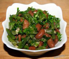 Салат из фасоли по армянски
