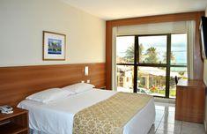 Admire a bela paisagem da praia de Ponta Negra diretamente do seu quarto Luxo com vista parcial para o mar. Windows, Tv Lcd, Bed, Room, House, Tik Tok, Furniture, Internet, Home Decor