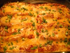 Simple, Perfect Enchiladas, The Pioneer Woman Cooks recipe