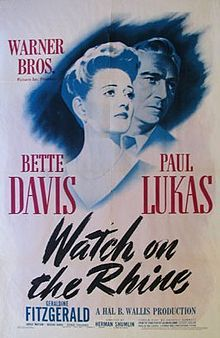 Rent Watch on the Rhine starring Bette Davis and Paul Lukas on DVD and Blu-ray. Get unlimited DVD Movies & TV Shows delivered to your door with no late fees, ever. Movies 2019, Old Movies, Vintage Movies, Great Movies, Geraldine Fitzgerald, Beulah Bondi, Divas, Paul Lukas, Cinema Posters