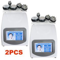 2pc 5-1 Ultrasonic Cavitation RF Radio Frequency Slim Machine Vacuum Health Care