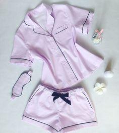 Cute Sleepwear, Lingerie Sleepwear, Nightwear, Cute Lazy Outfits, Pretty Outfits, Cute Fashion, Fashion Outfits, Pajama Outfits, Night Suit
