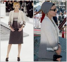 Sheikha Mozah In Chanel 2005 Spring couture