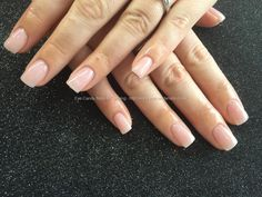 Acrylic nails with natural pink gel polish. Nail Technician:Joanne Duckmanton Taken at:17/01/2015 12:45:00 Uploaded at:31/01/2015 00:30:00 Technician:External Web Site User