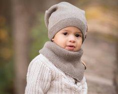 Gestrickte Beanie Kids, warme Kinder Beanie, Kleinkind Jungen Hut, Kleinkind Mädchen Beanie, Strickmütze warme Kinder, Baby Boy Beanie Baby Mädchen Hut